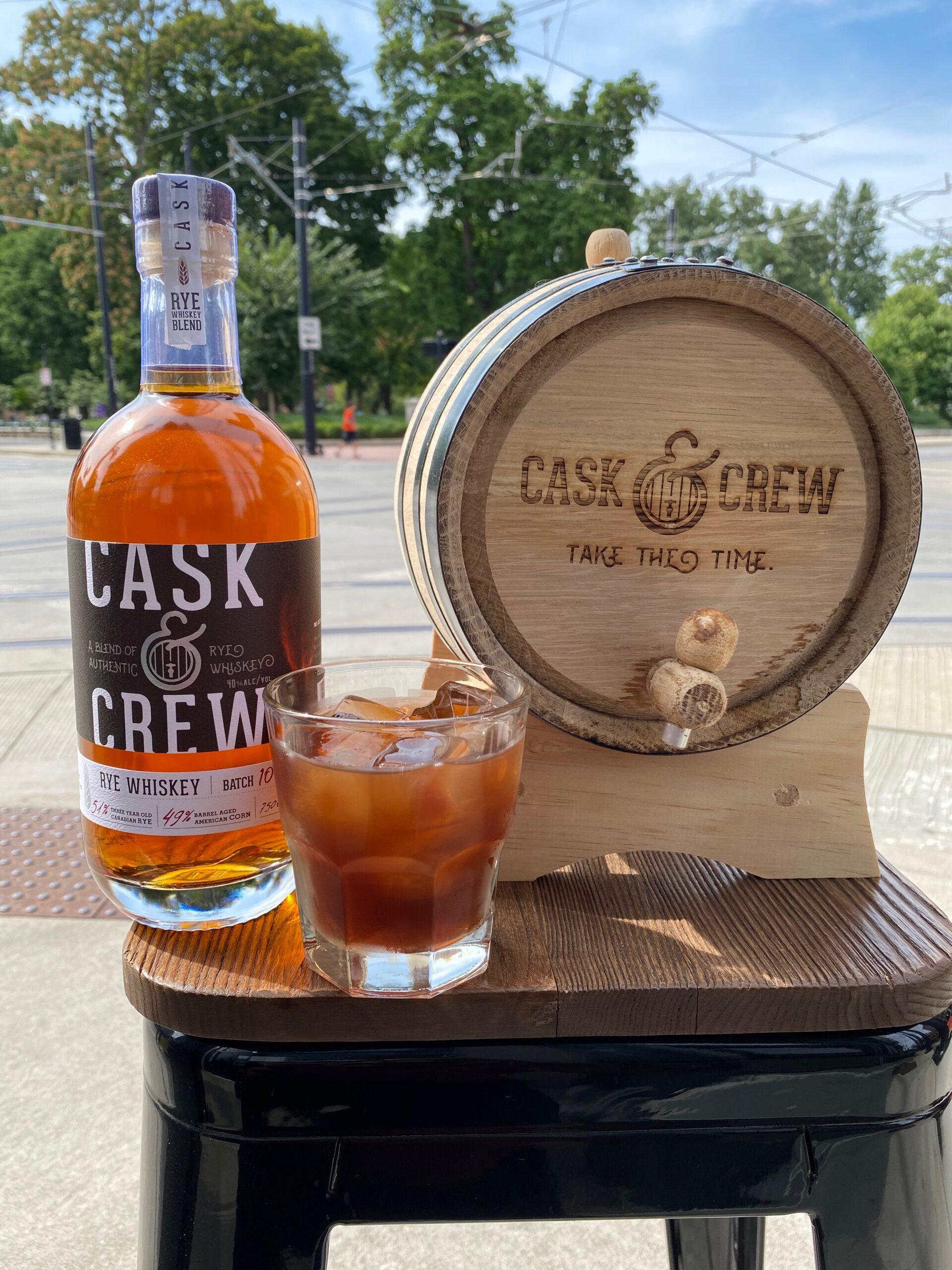 New! Cask & Crew Barrel Aged Manhattan